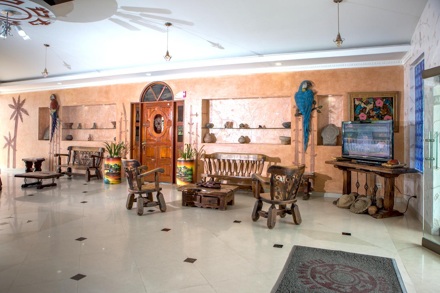 Recepcion hotel anamichu suites